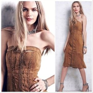 Free People Rosa Suede Dress